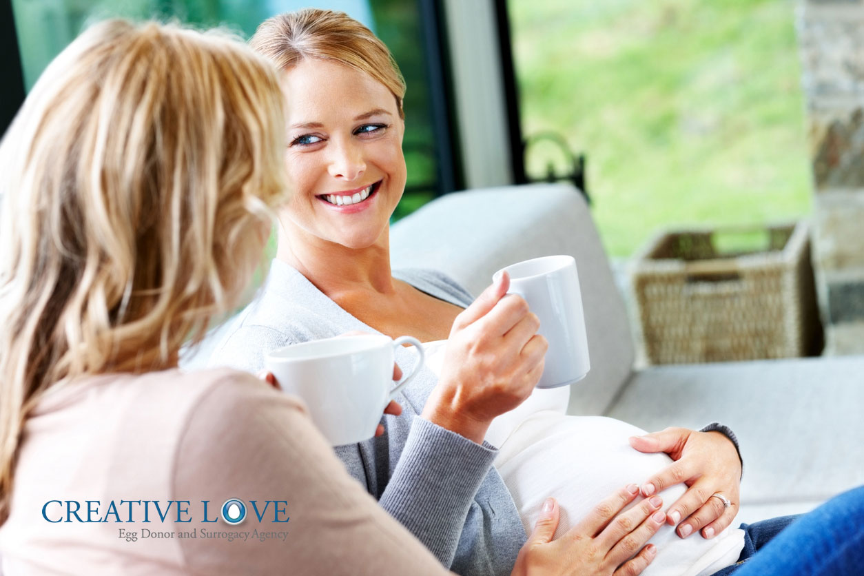 communicate with your gestational carrier